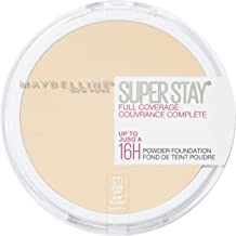 Maybelline New York Super Stay Full Coverage Powder Foundation Makeup Matte Finish, Classic Ivory, 0.18 Ounce