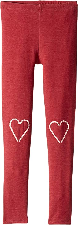 Extra Soft Candy Cane Heart Knees Pants (Little Kids/Big Kids)