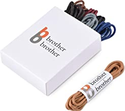 Brother Brother (7 Pairs) Colored Men's Oxford Dress Shoe Laces | Shoe Strings