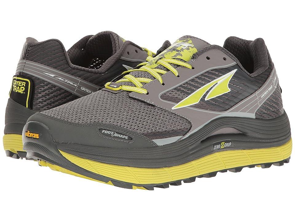Altra Footwear Olympus 2.5 (Gray/Lime) Men