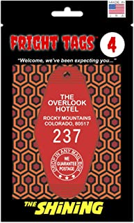 Fright Tags # 4 - The Overlook Hotel #237 (Red) - The Shining Key Tag
