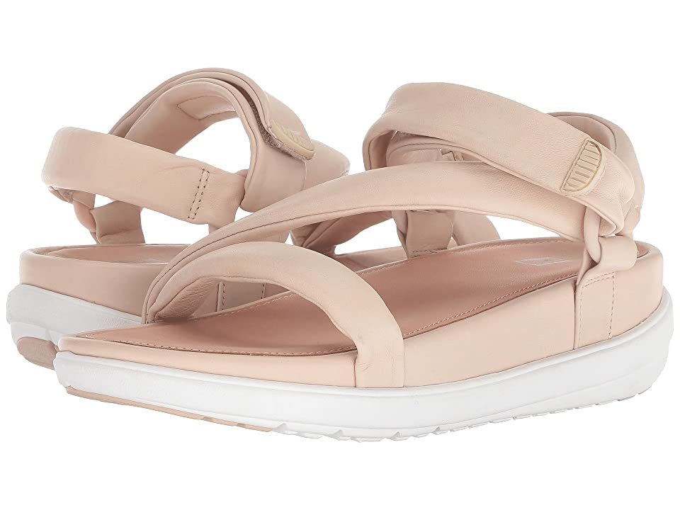 FitFlop Loosh Luxetm Z-Strap Leather Sandals (Nude Leather) Women