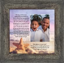 Crossroads Home Décor The Starfish Story, Legend of The Starfish, Thank You or Appreciation Gift for Your Pastor or Teacher, You Can Make a Difference Poem, 10x10 6396BW
