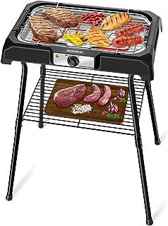 Churrasqueira Elétrica Mondial, Grand Steak & Grill II, 220V, Preto, 2000W - CH-06