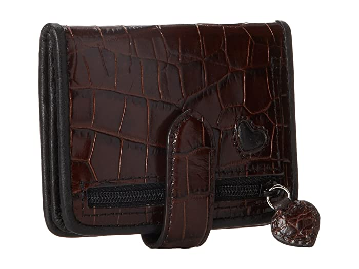 Brighton Bellisimo Heart Small Wallet - Bolsas Billeteras