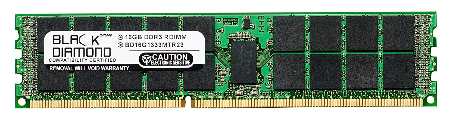 重要できれば熟読16GB RAM Memory for Compaq ProLiant SL160s G6 (626896-B21) Black Diamond Memory Module DDR3 ECC Registered RDIMM 240pin PC3-10600 1333MHz Upgrade