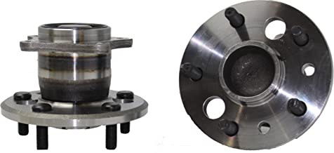 Detroit Axle - (Both) Rear Wheel Hub and Bearing Assembly for 2002-2004 Toyota Camry Non-ABS and US Built Models 5-Lug