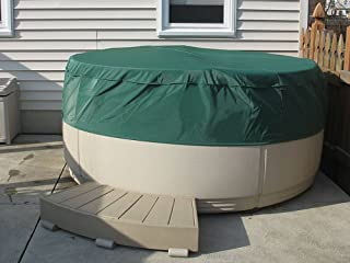 CoverMates – Round Hot Tub Cover – Cap 80DIAMETER x 14H – Classic Collection – 2 YR Warranty – Year Around Protection