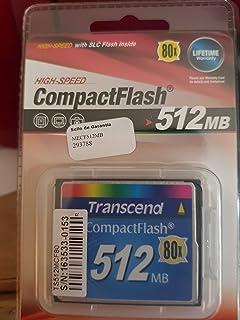 Transcend Compact Flash - 512 MB (Reacondicionado)