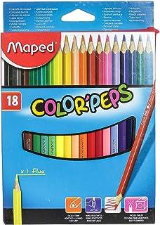 Maped Colorpeps Color Pencil - 18 Pieces