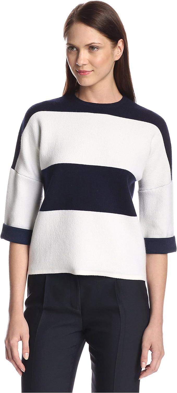 Derek Lam Women's Broad Stripe Sweater