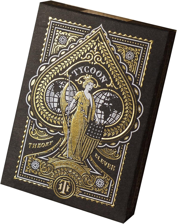 Tycoon Spielkarten (schwarz) B01ESWPHP8 Lebhaft und liebenswert     | Einfach zu bedienen