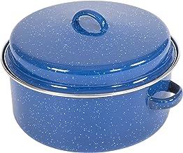 قدر طبخ بالسيراميك والمينا مع غطاء من ستانسبورت - 5 لتر، ازرق