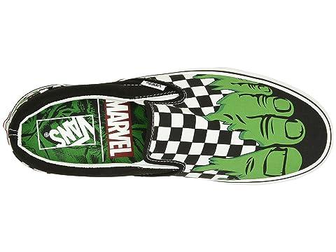 Slip Hulk Checkerboard Vans Collab Marvel On Classic Marvel X Ox15Rq
