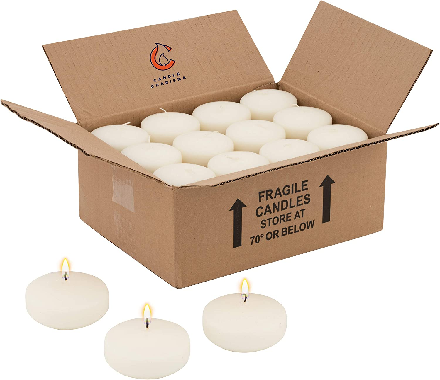 Floating Candles Mesa Mall Ivory Denver Mall Unscented 3