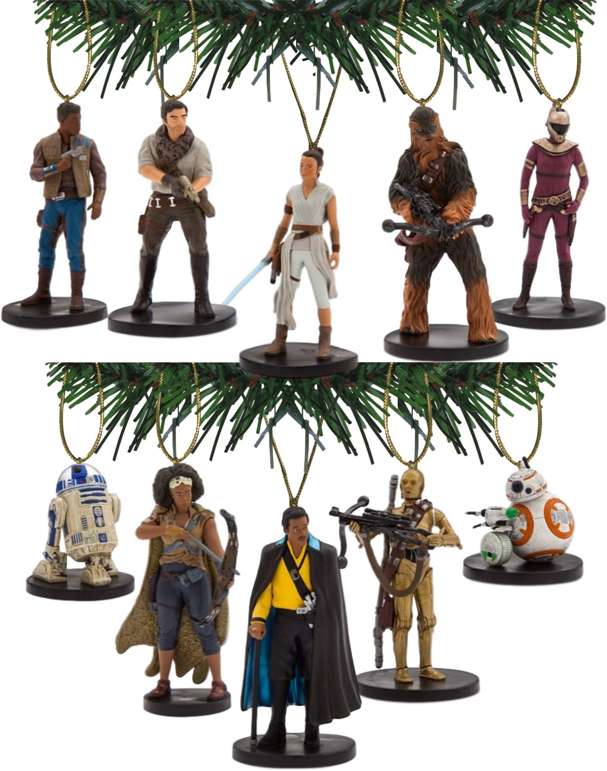 "Details about  /Disney Poe Dameron OOAK Star Wars Force Awakens 3/"" PVC Christmas Ornament Figure"