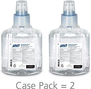 PURELL LTX-12 Advanced Green Certified Hand Sanitizer Foam, Fragrance Free, 1200 mL EcoLogo Certified Sanitizer Refill for PURELL LTX-12 Touch-Free Dispenser (Pack of 2) - 1904-02