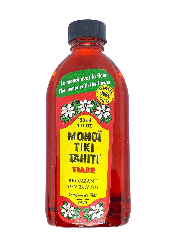 Genuine Free Shipping Monoi Tiki Tahiti Rouge Tiare Suntan Bronzant price Coconut Oil Body