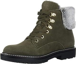 Bandolino Footwear Women's Lauria Hiking Boot, Green, 6 M US