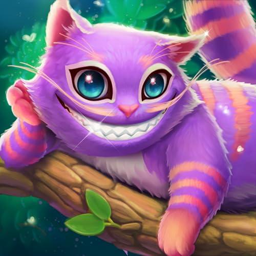 WonderMatch ™-Gratis Match-3 Puzzle SpieleTausch-Gelee & Match-Bonbons in Alice brandneuem lustigen 3-Gewinnt-Adventure Quest 2020 mit coolen Grafiken! Reise im das magische Welt HD für Kindle Fire!