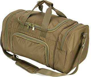military style duffle bag