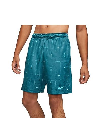 Nike Dry Shorts All Over Print SP (Dark Teal Green/Chlorine Blue) Men