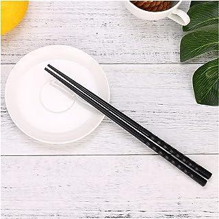 隔熱 箸、1ペアの日本の箸合金ノンスリップ寿司食品箸中国のギフトリユース箸スティック 吃寿司時間 (Color : A 24cm)