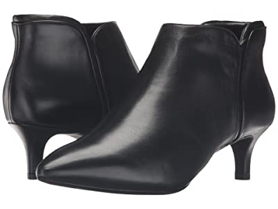 Rockport Total Motion Kalila Bootie (Black Leather) Women