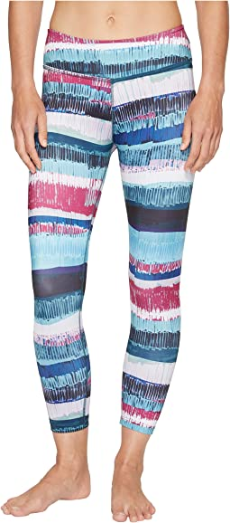 Beyond Yoga - Lux Print Capri Leggings