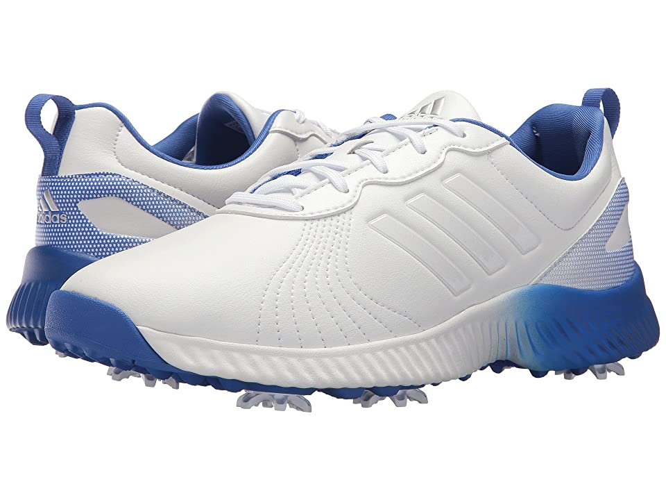 adidas Golf Response Bounce (Footwear White/Footwear White/Hi-Res Blue) Women