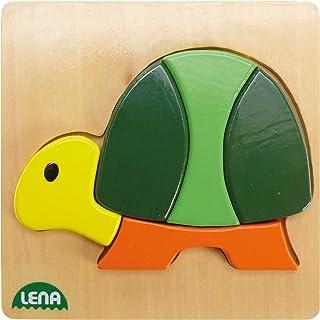 Lena 32063 - Tortoise Wooden Puzzle