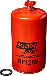 Baldwin Filters  BALBF1258 Heavy Duty Fuel Filter (7-7/16 x 3-11/16 x 7-7/16 In)