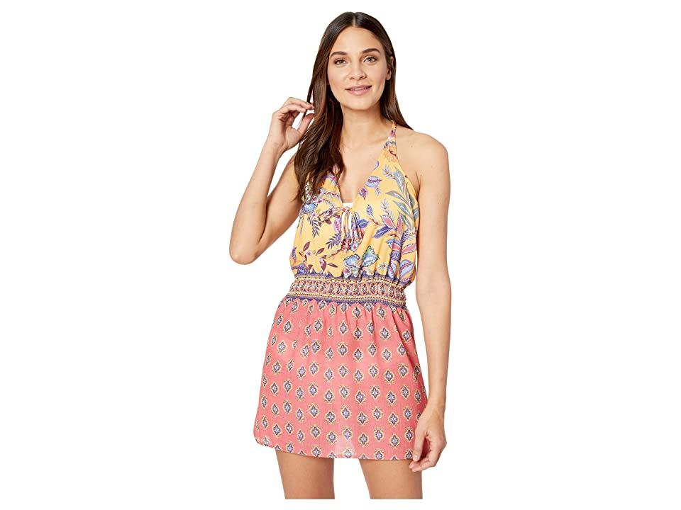 BECCA by Rebecca Virtue Tapestry Bloom Dress Cover-Up (Multi) Women