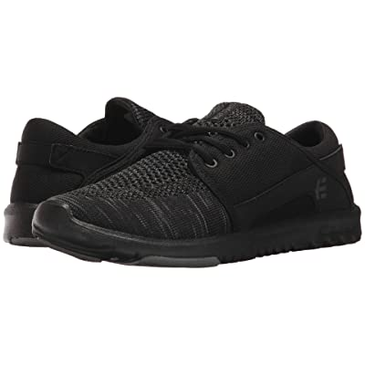 etnies Scout YB (Black/Grey/Black) Women