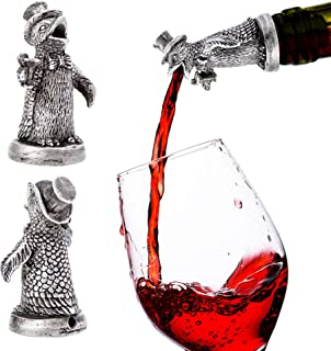 Stainless Steel Penguin Wine Pourer & Aerator & Diffuser MORE ANIMALS AVAILABLE