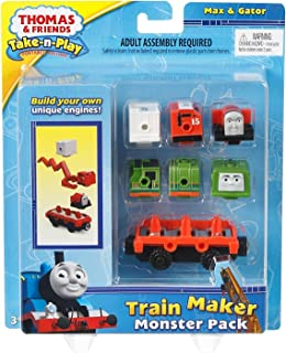 Fisher-Price Thomas & Friends Take-n-Play, Engine Monster Pack
