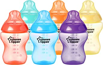 Tommee Tippee Closer to Nature Fiesta Baby Bottles, 260 ml,
