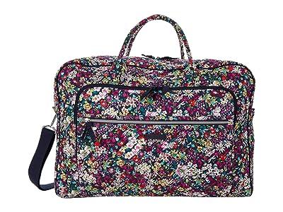 Vera Bradley Iconic Grand Weekender Travel Bag (Itsy Ditsy) Weekender/Overnight Luggage