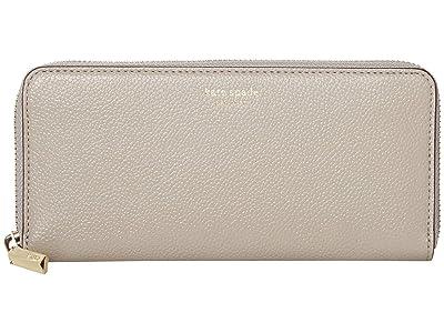 Kate Spade New York Margaux Slim Continental Wallet (True Taupe) Wallet Handbags