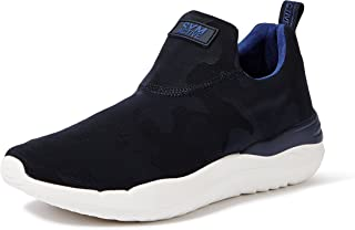 Amazon Brand - Symbol Men's Navy Sneakers-10 (AZ-YS-205 A)