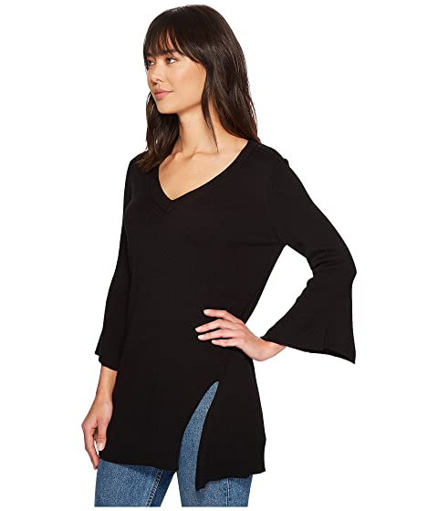 Splendid V-Neck Pullover Black Grey Outlet Store Online eWrPV