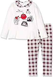 Chicco Completo T-Shirt Maniche Lunghe con Leggings Conjunto de Ropa para Niñas