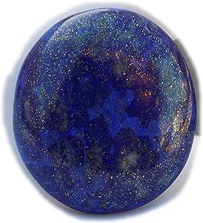 The Best Jewellery Lapis Lazuli cabochon, 54Ct Lapis Lazuli Gemstone, Oval Shape Cabochon For Jewelry Making (30x30x7mm) S...