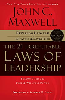The 21 Irrefutable Laws of Leadership: Follow Them and People Will Follow You Audio CD