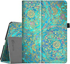 Fintie Case for iPad Pro 9.7, Premium Vegan Leather Folio [Slim Fit] Standing Smart Protective Cover with Auto Sleep/Wake Feature for iPad Pro 9.7 Inch 2016 Release Tablet, Shades of Blue