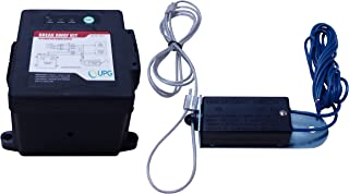 Universal Power Group UPG 42914 Black Side-Load Breakaway Kit with LED, Charger and Switch
