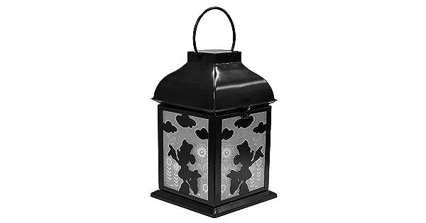 Metal Garden Lantern Design International Group Disney Minnie Solar LDG87926
