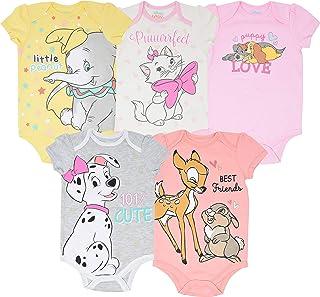 Toy Story Baby Girls 5 Pack Bodysuits Jessie Bo Peep Buzz...