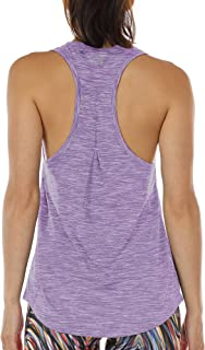 a62ff3e3 icyzone Workout Tank Tops for Women - Athletic Yoga Tops, Racerback Running  Tank Top,