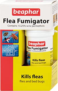 Fumigador de pulgas Beaphar, mata pulgas, moscas, polillas,